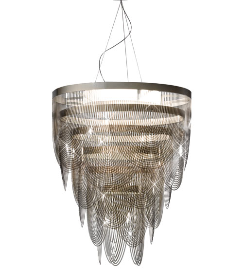 Chandelier Lighting Luxury Master Piece Bruno Rainaldi