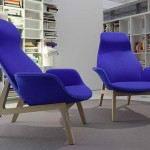 Collection Poliform 2011 Ventura Lay Seat Blue