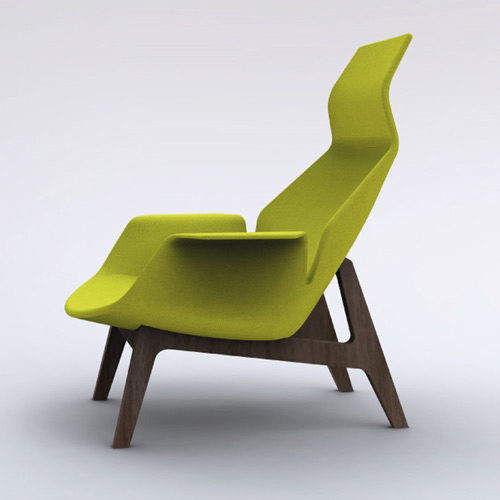 Collection Poliform 2011 Ventura Lay Seat Green