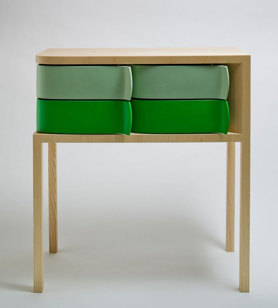 Amazing Fashionable Sideboard Utilizing Revolving Earth-friendly Packaging 1