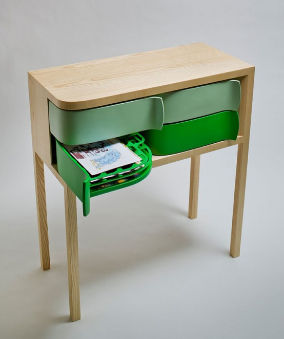Amazing Fashionable Sideboard Utilizing Revolving Earth-friendly Packaging 4
