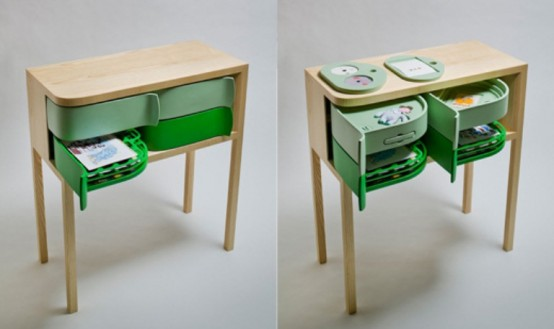 Amazing Fashionable Sideboard Utilizing Revolving Earth-friendly Packaging 5