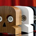 Cranium Wooden Sound systems Hand-Crafted on Franc - MinuSkull 1