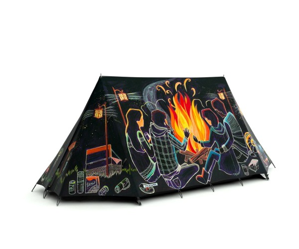 Extremely creative FieldCandy Tents 7