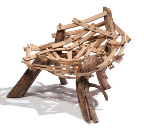 Eyrie Reclining chair From Floris Wubben