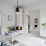 Relaxing Scandinavian Studio Boasting Noble Highlights 1