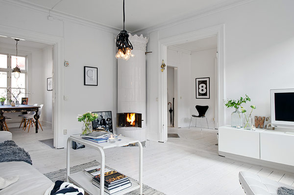Relaxing Scandinavian Studio Boasting Noble Highlights 1 Relaxing Scandinavian Studio Boasting Noble Highlights