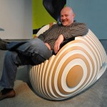 Typically the Beehive Reclining chair from Graham Roebeck 1