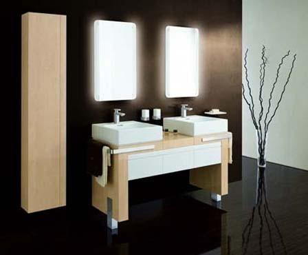 modern bathroom vanities e1324364243897 The Perfect Bathroom Vanity Bases for Your Place
