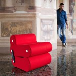 B-LINE masterpiece Contemporary Multi Convertible Red Colour