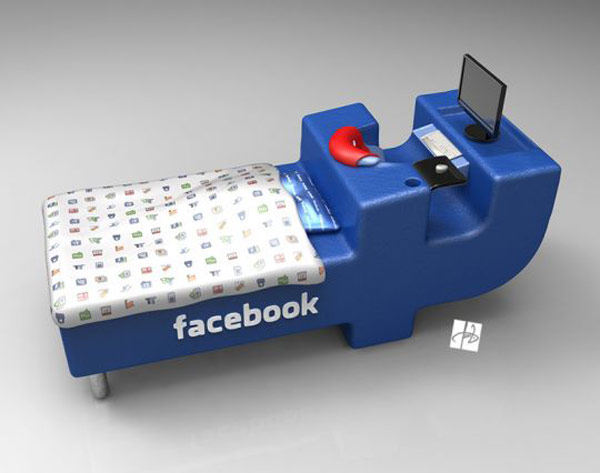 Fb Lovers, Express joy! FacebookBed Notion simply by DevianTom 1