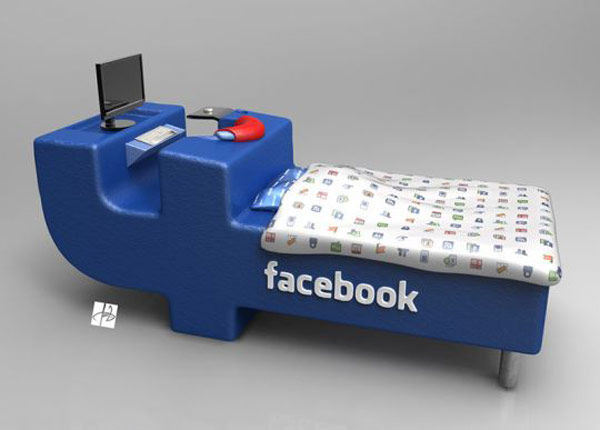 Fb Lovers, Express joy! FacebookBed Notion simply by DevianTom 3
