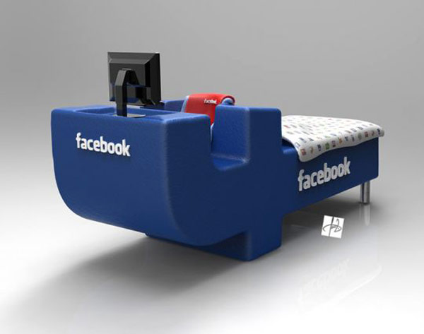 Fb Lovers, Express joy! FacebookBed Notion simply by DevianTom 5
