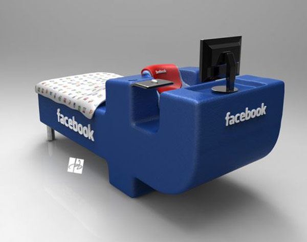 Fb Lovers, Express joy! FacebookBed Notion simply by DevianTom 6