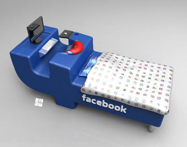 Fb Lovers, Express joy! FacebookBed Notion simply by DevianTom 7