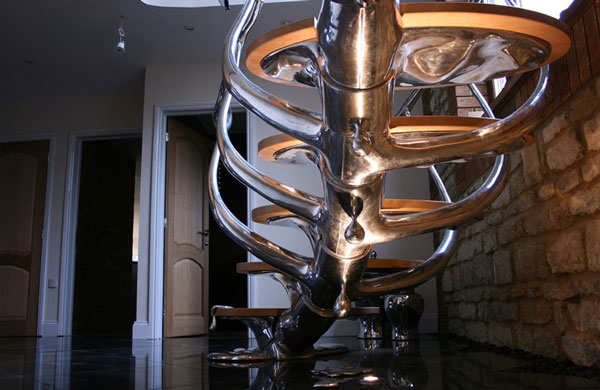Sculptural Stairs by simply Philip Watts Design 3