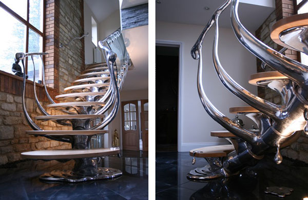 Sculptural Stairs by simply Philip Watts Design 4