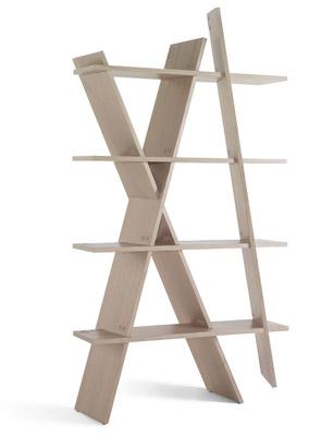 Wewood XI XI book shelf by Gonçalo Campos