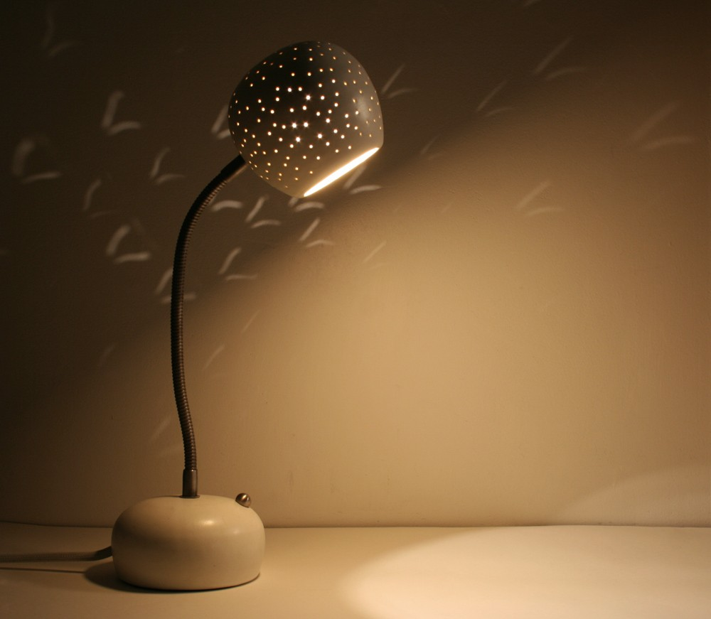 Unique Desk Lamp with Touch Dimmer semicircle by lightexture